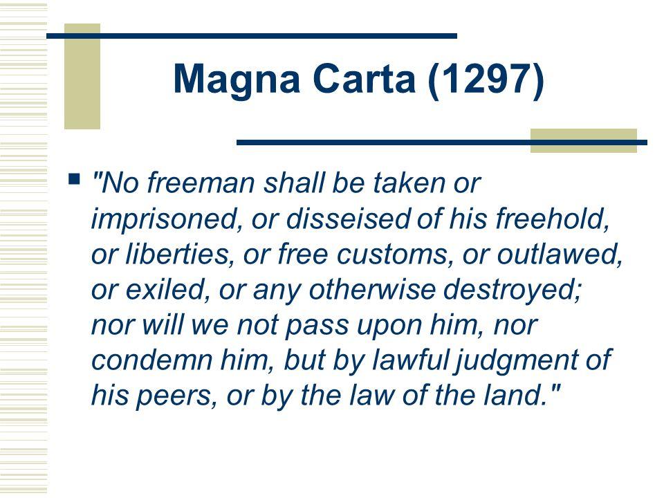 Magna Carta (1297)