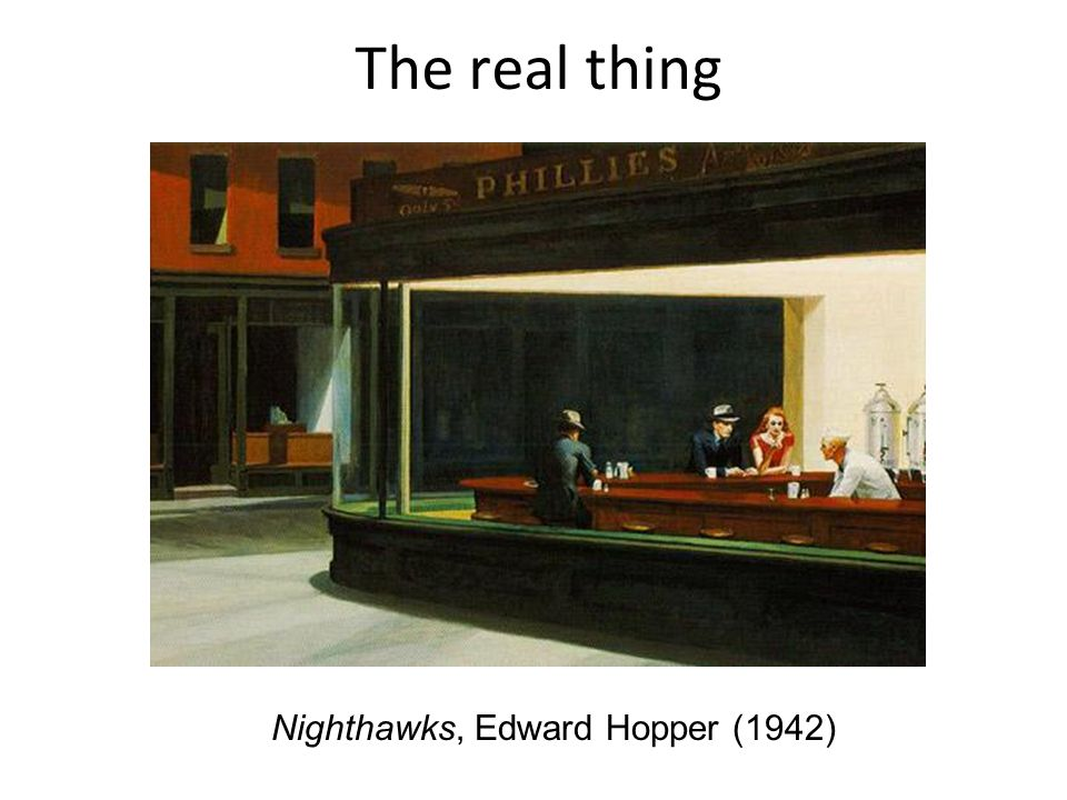 Nighthawks, Edward Hopper (1942)