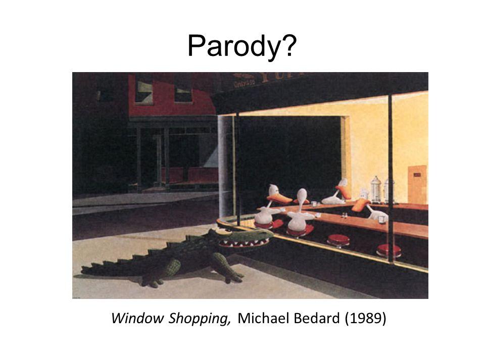 Window Shopping, Michael Bedard (1989)