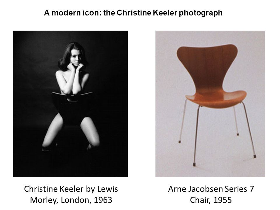 A modern icon: the Christine Keeler photograph