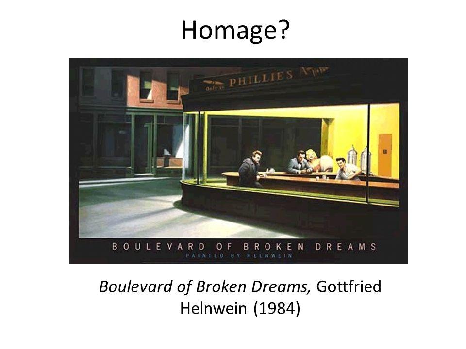 Boulevard of Broken Dreams, Gottfried Helnwein (1984)