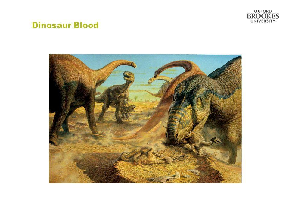 Dinosaur Blood