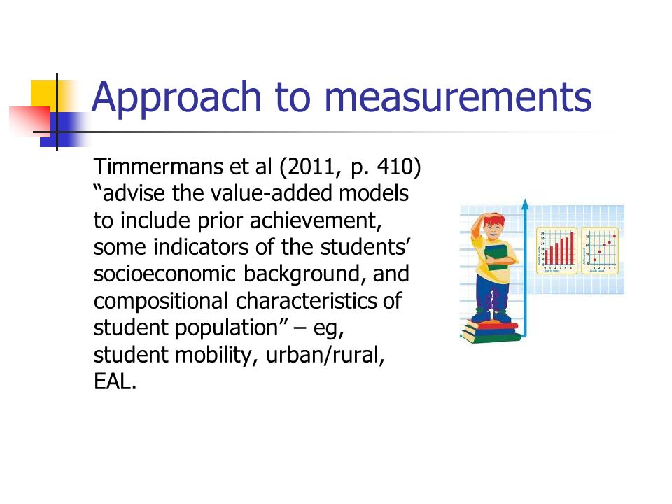 Approach to measurements