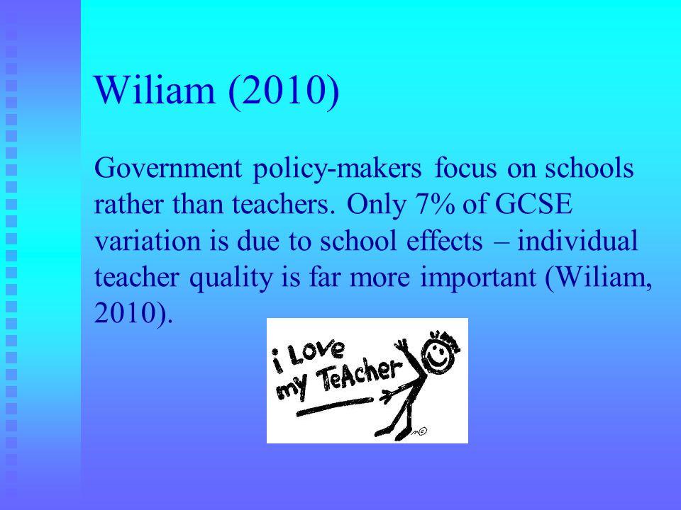 Wiliam (2010)