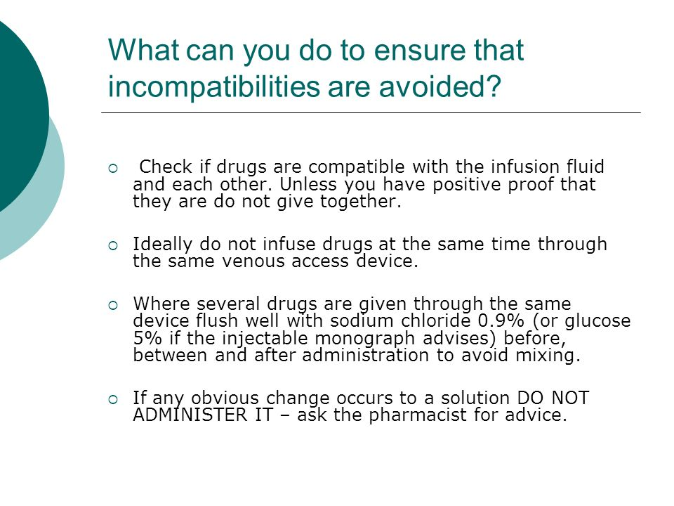 What can you do to ensure that incompatibilities are avoided