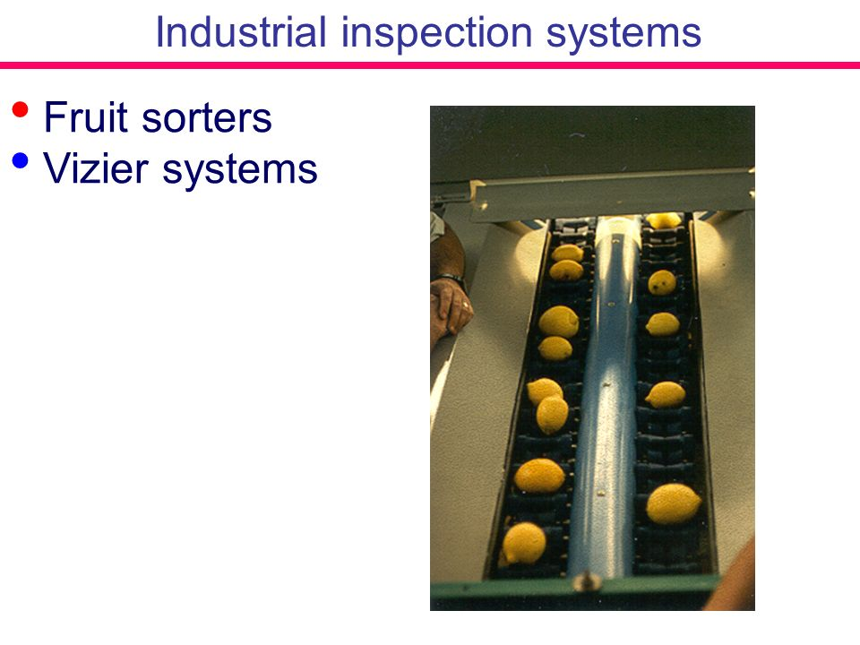 Industrial inspection systems