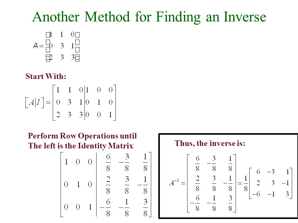a look at the calculation of the matrix system in mathematics Represent systems of two linear equations with matrix equations by determining a and b in the matrix equation ax=b.