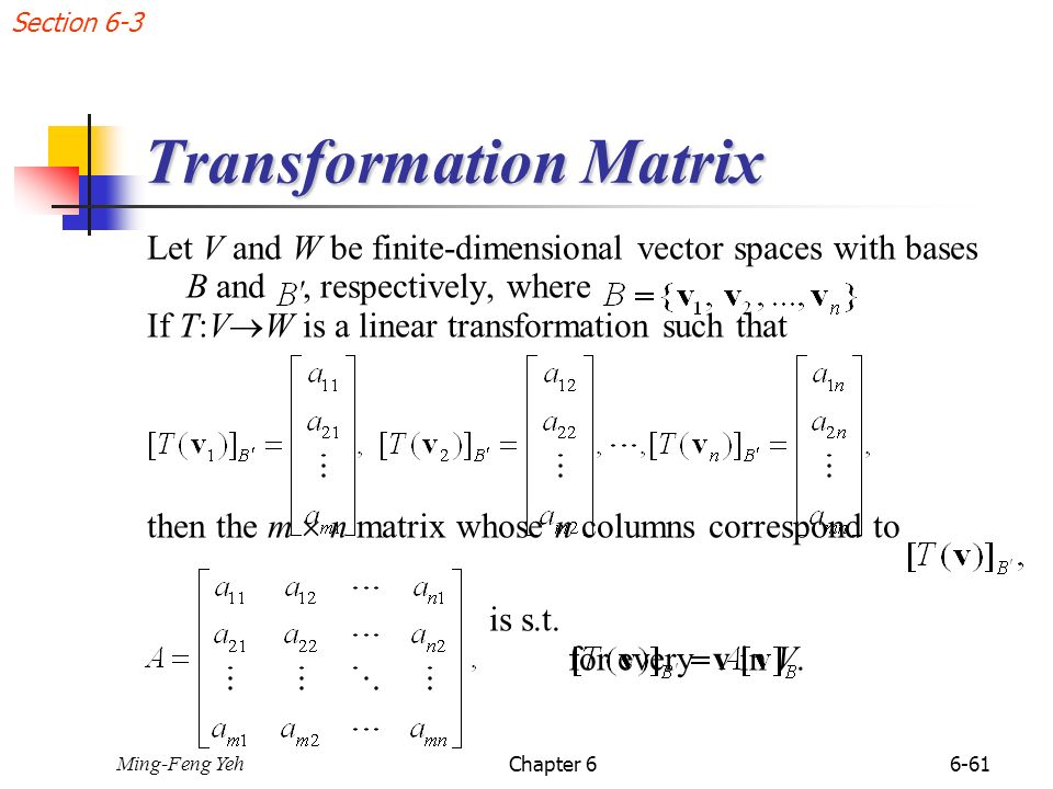 matrix transformation Introduction to linear transformations watch the next lesson:  .