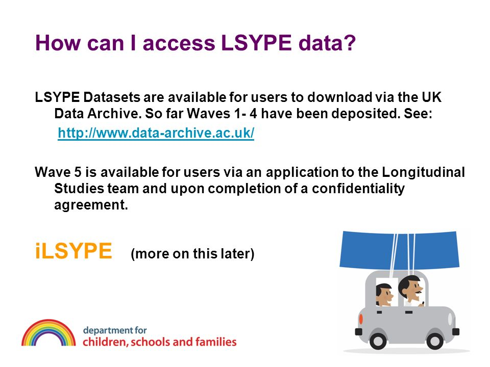 How can I access LSYPE data