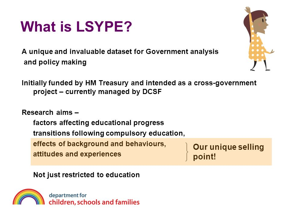 What is LSYPE Our unique selling point!
