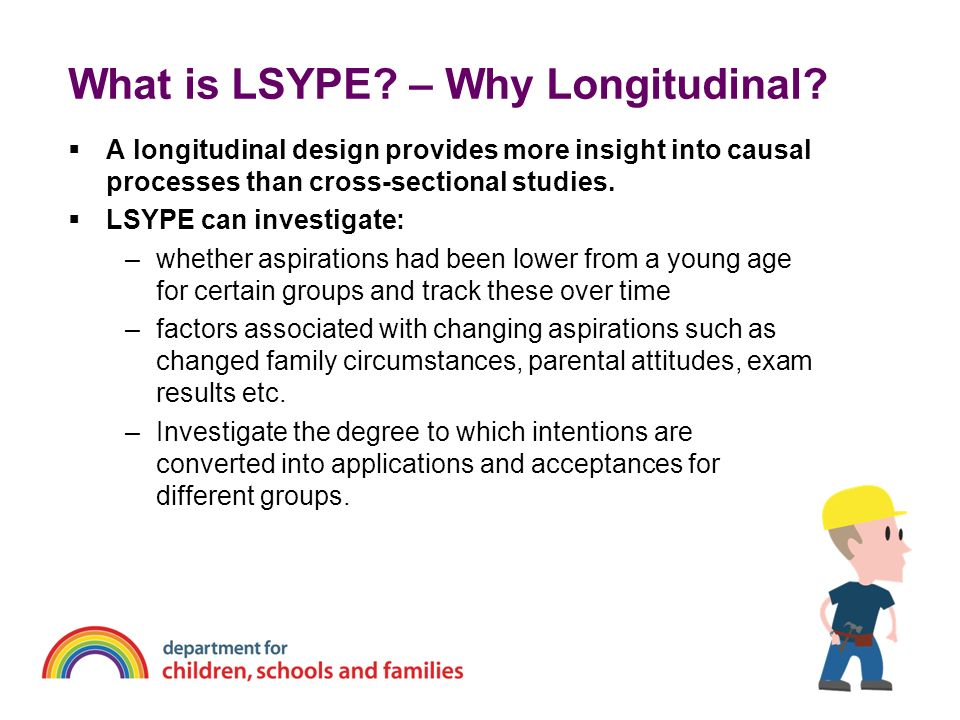 What is LSYPE – Why Longitudinal