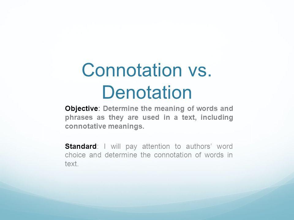 Connotation vs Denotation ppt video online download – Connotation Worksheets