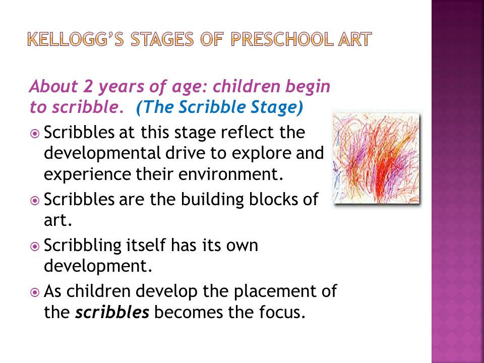 Scribble Stage Of Drawing : Welcome to week six  artistic development in
