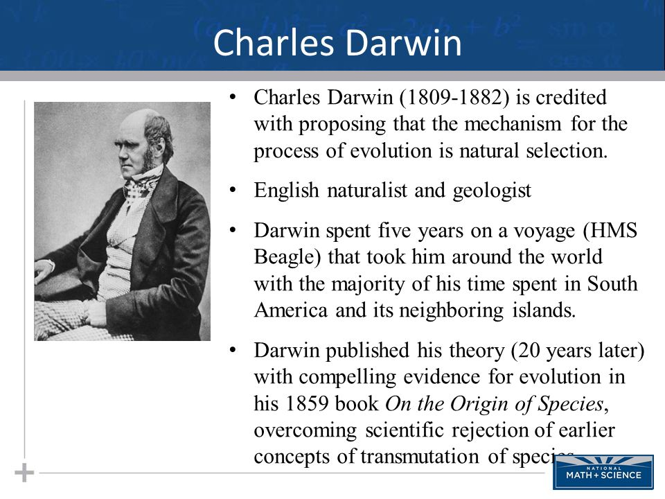 a biography of charles darwin the english naturalist and geologist