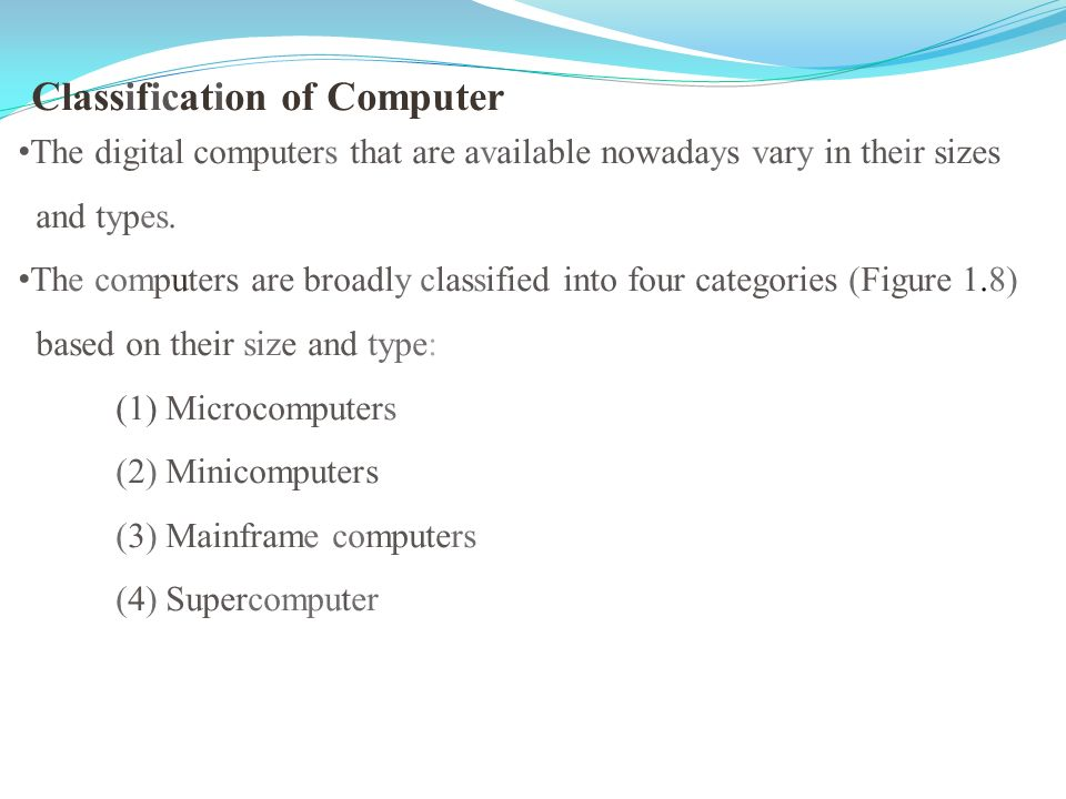 classification of computers based on brands She did not compare any other computers when making this  and it involves attribute-by-attribute comparisons across brands attitude-based choices, on the.