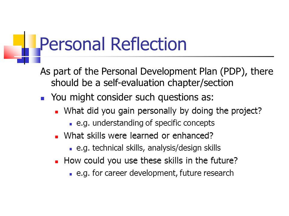 individual reflection report on a business plan Developing an effective evaluation plan of the program, the intended uses of the evaluation, as well as feasibility issues this section should delineate the.