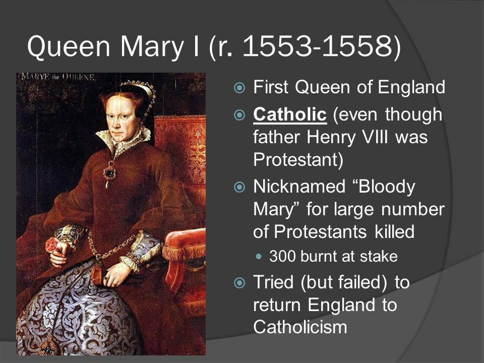 bloody mary and the virgin queen did mary i deserve the title 'bloody mary'  bloody mary and the virgin queen mary and elizabeth tudor were both, by all accounts,.