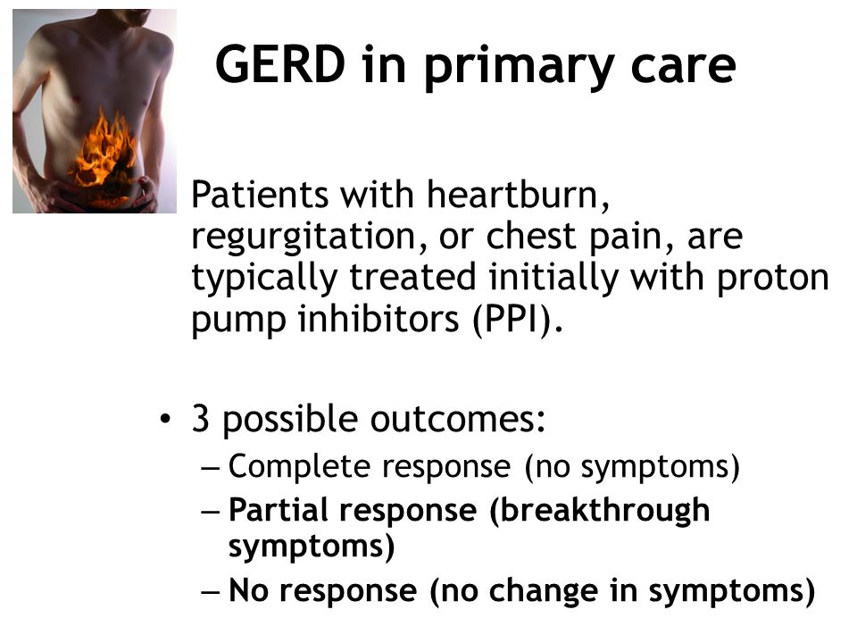 A Gastroenterologist S View Of Gerd And Its Pre Operative