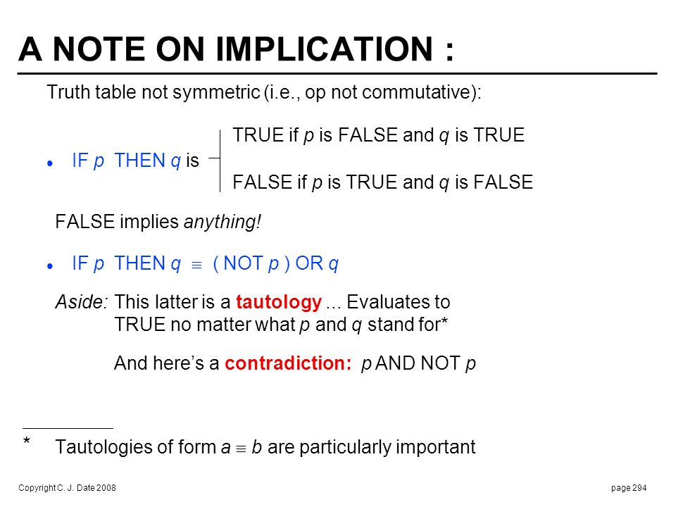 RE FALSE IMPLIES ANYTHING :