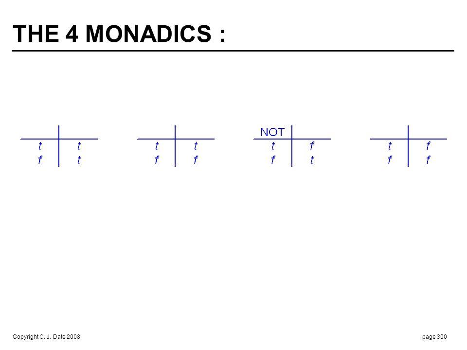 THE 16 DYADICS :