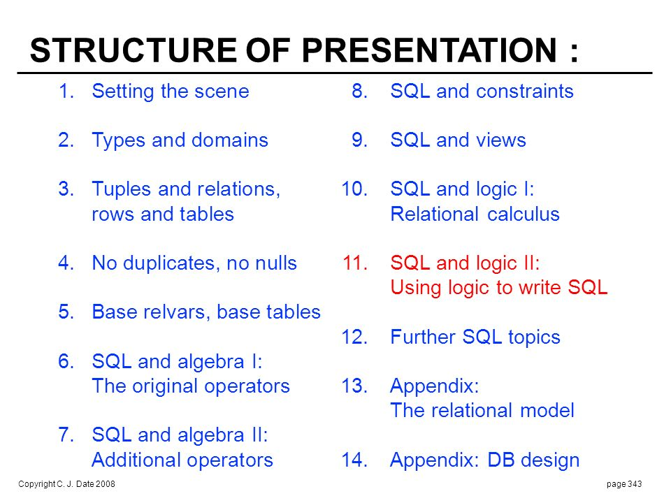 HOW TO WRITE CORRECT SQL AND KNOW IT :