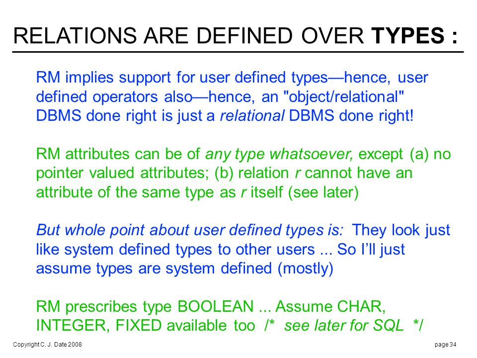 DOMAINS AND TYPES ARE THE SAME THING :