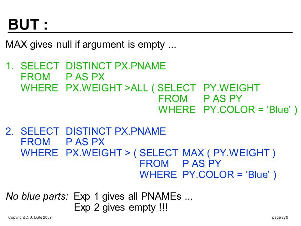 2. SELECT DISTINCT PX.PNAME