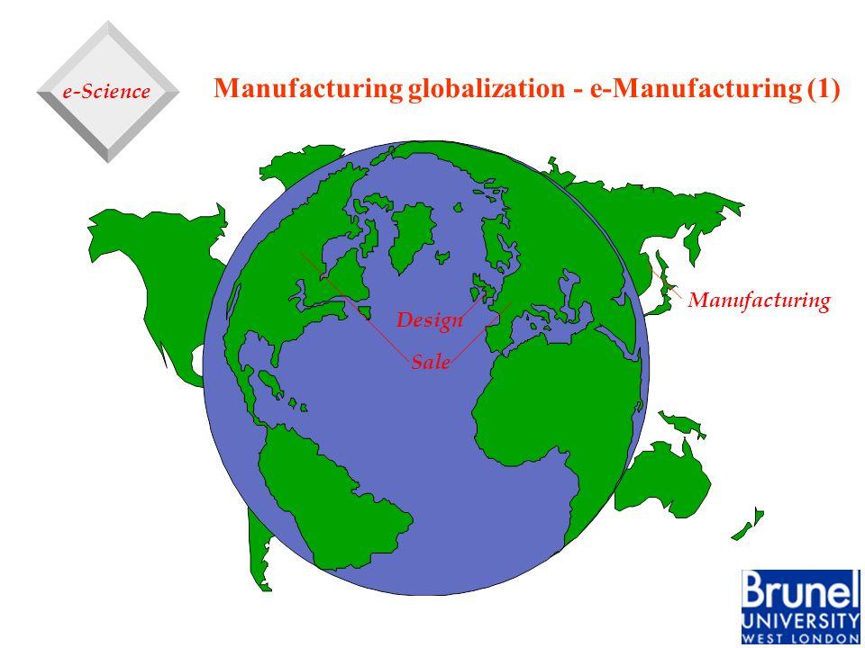 Manufacturing globalization - e-Manufacturing (1)