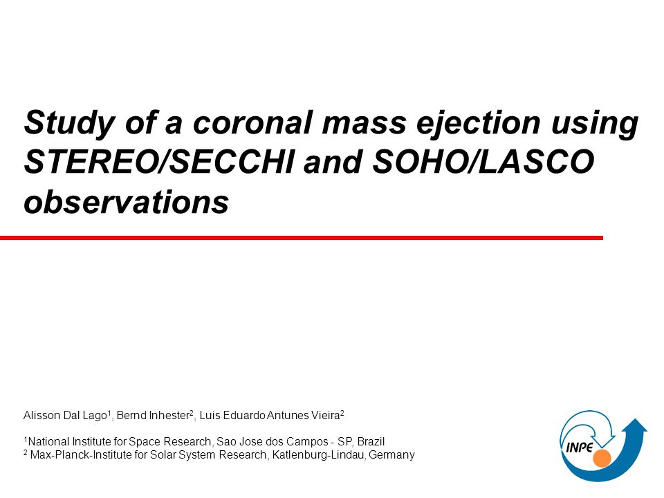 Study of a coronal mass ejection using STEREO/SECCHI and SOHO/LASCO observations