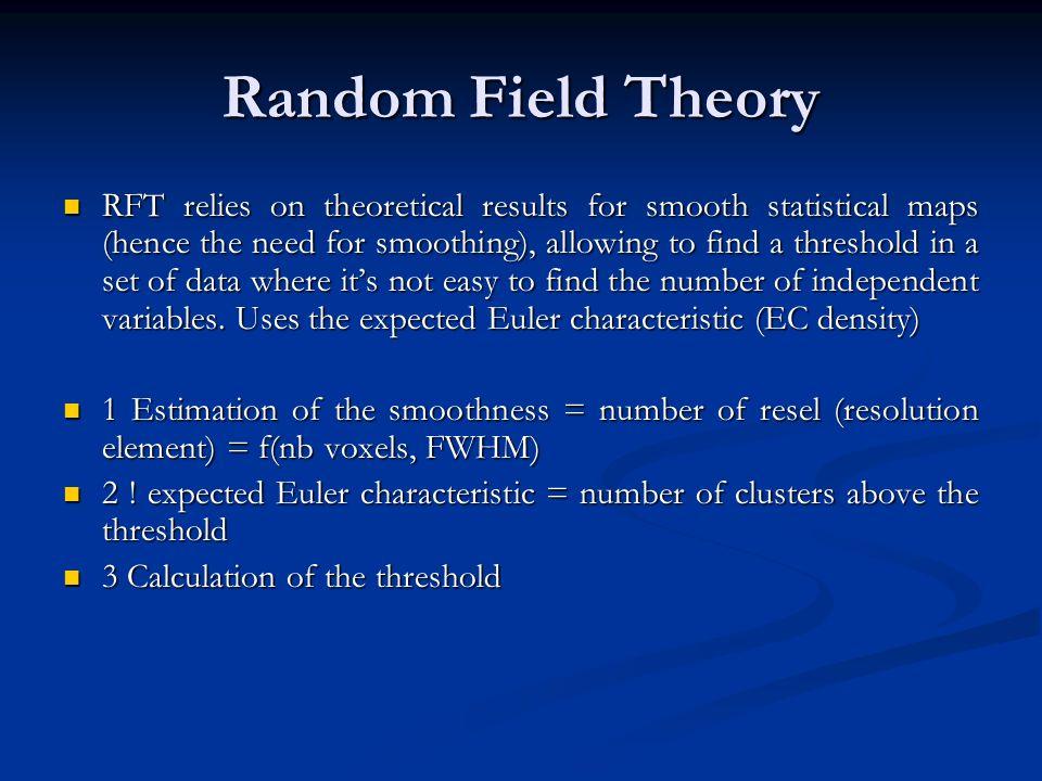 Random Field Theory