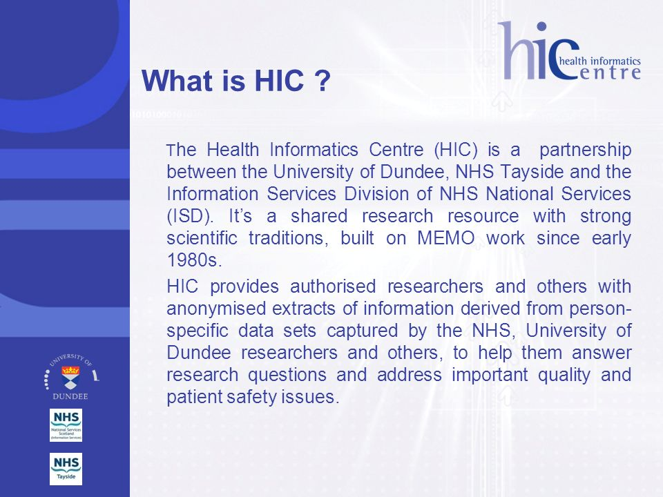 What is HIC