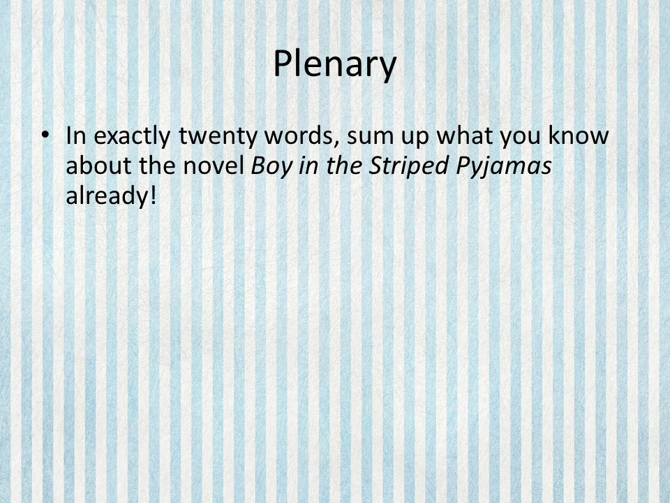the boy in the striped pyjamas critical essay Anna winter reviews northern ballet's the boy in the striped pyjamas at the richmond critical futures books northern ballet's the boy in the striped.