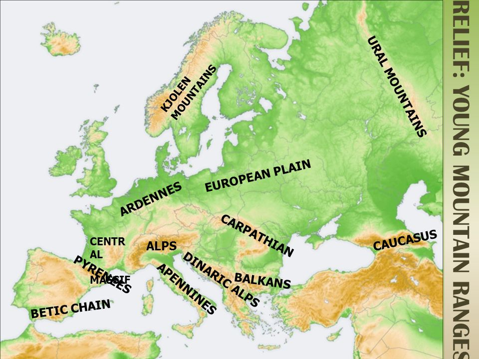 PHYSICAL EUROPE  ppt video online download