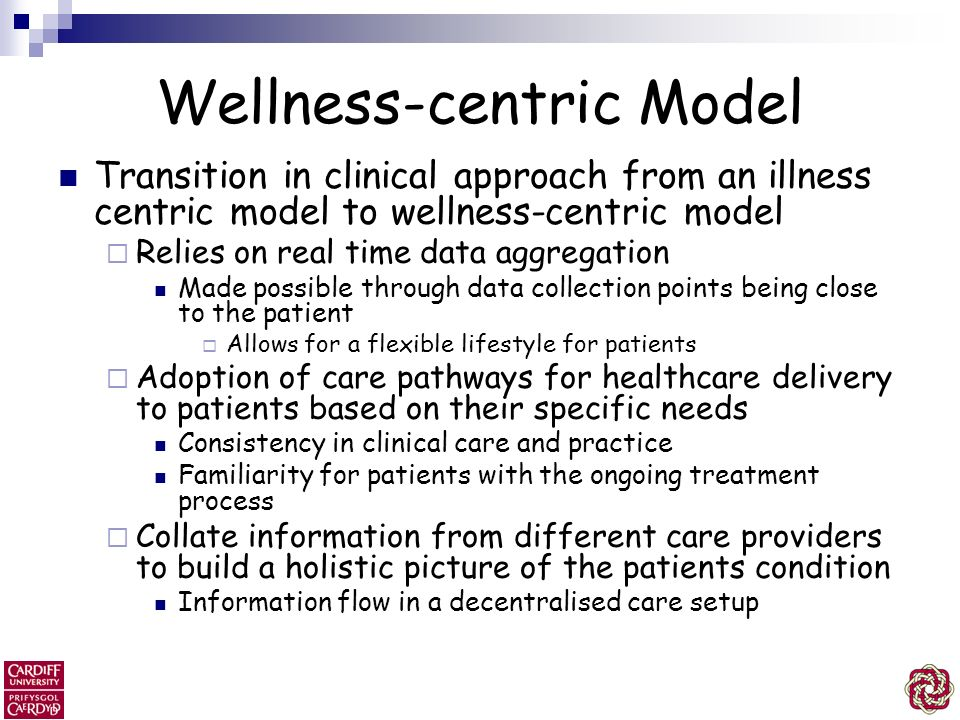 Wellness-centric Model