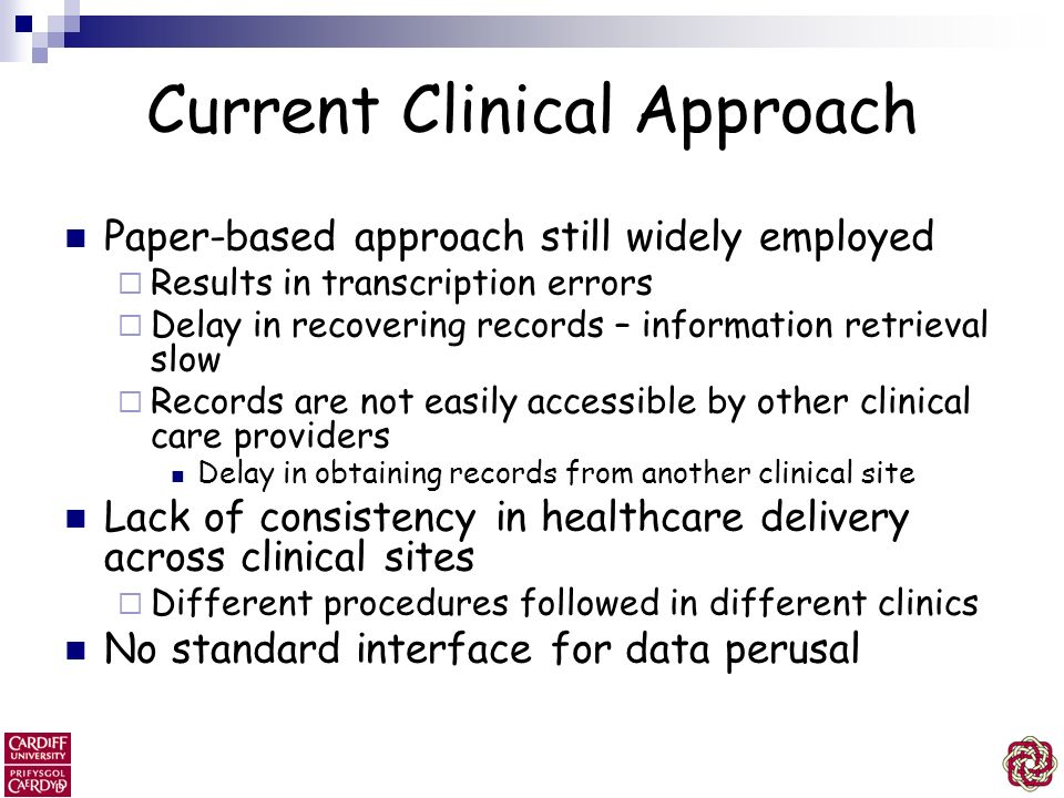 Current Clinical Approach