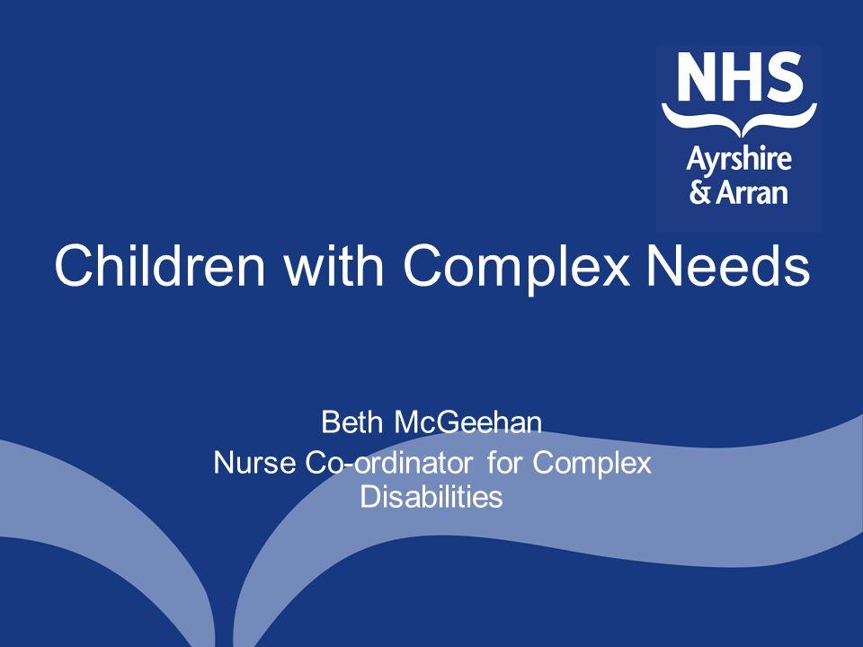 Children with Complex Needs