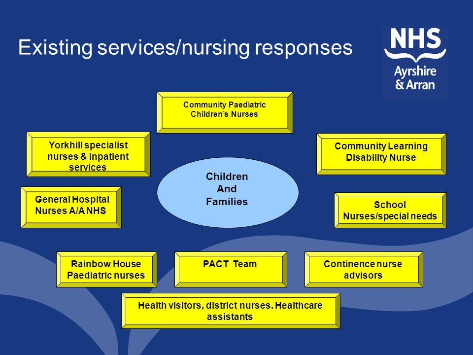 Existing services/nursing responses