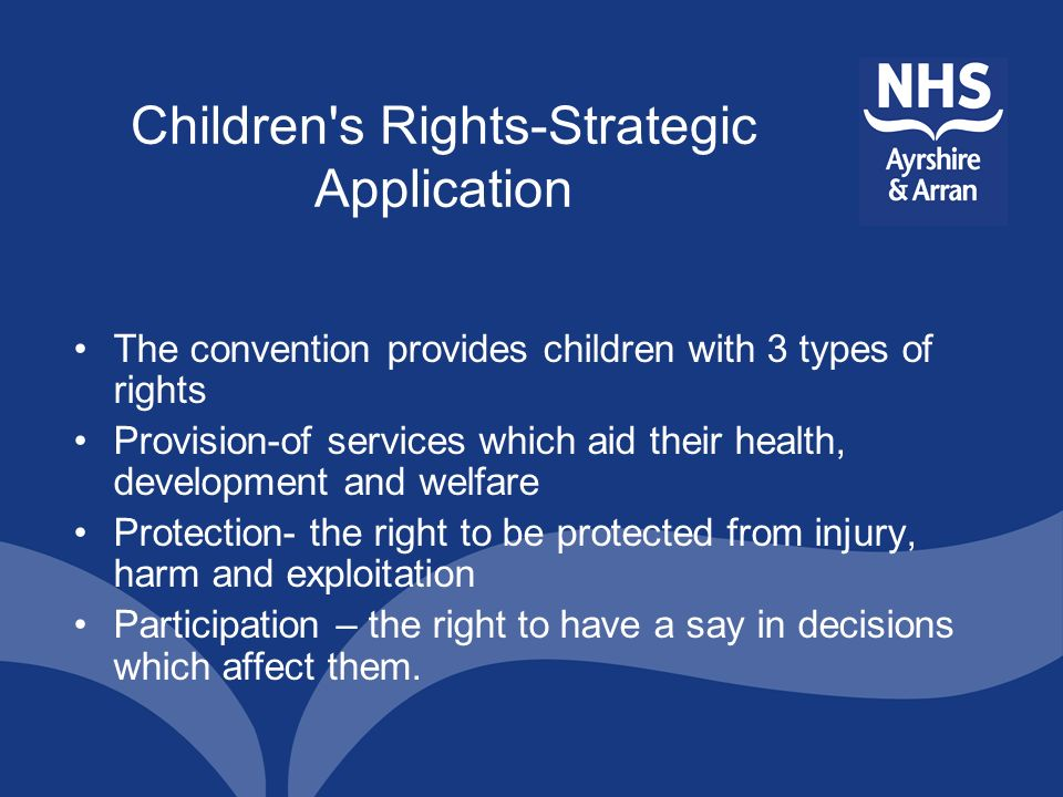 Children s Rights-Strategic Application