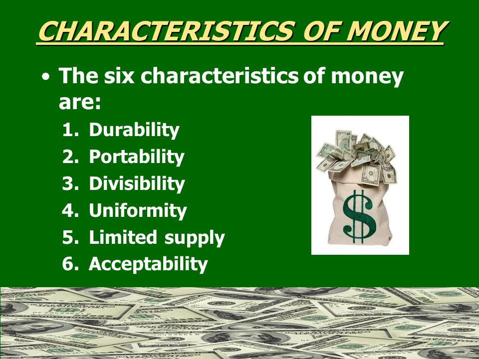 Money banking currency paper money coins ppt download for 6 characteristics of bureaucracy