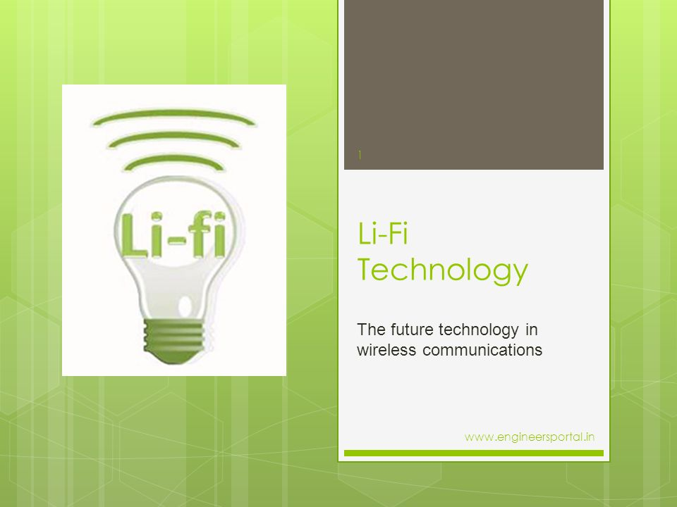 The future technology in wireless communications