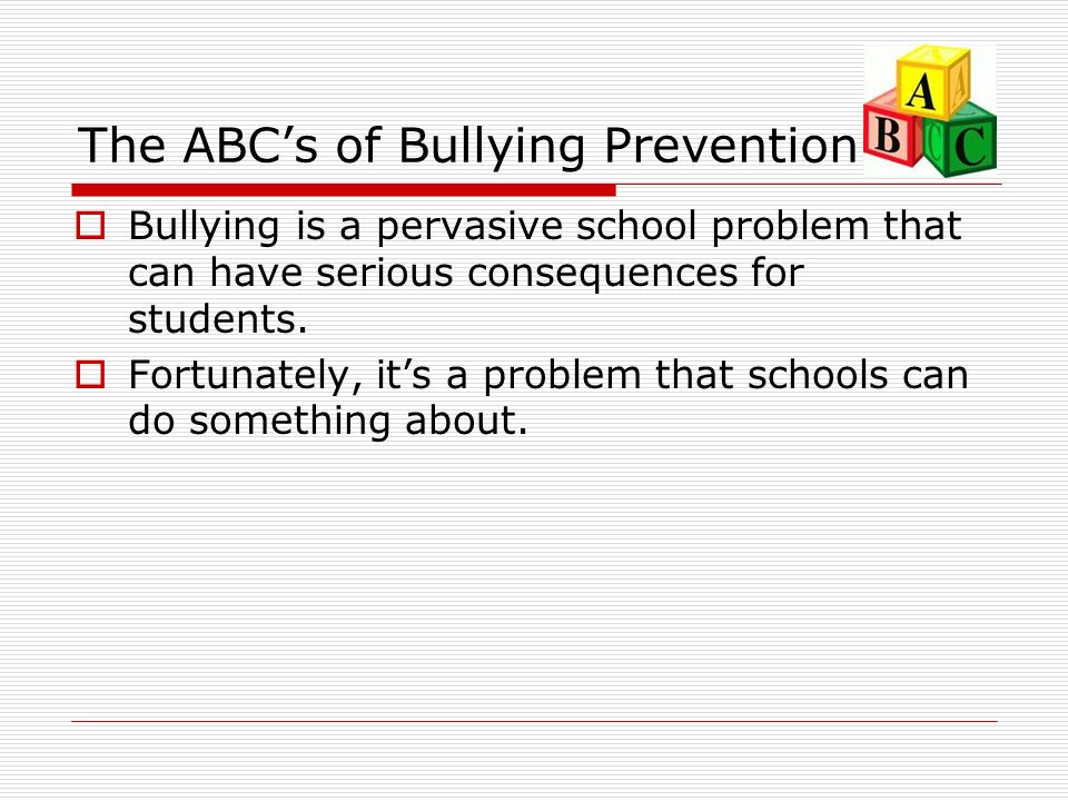 bullying is a serious issue Bullying is a serious issue: it is a crime phillip slee david ford australian research into school bullying has increased our understanding of issues such as:.