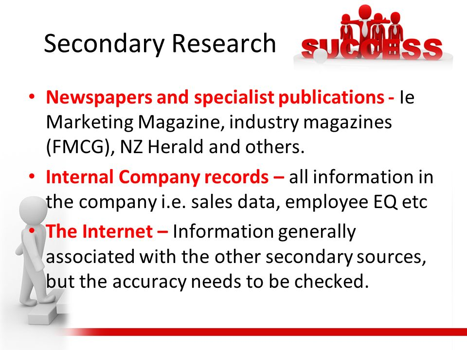 secondary research internal sources Internal v s external sources of data collection what are secondary methods business jargons research using secondary data sources steppingstones of informationbmkt 360 summer 2013.