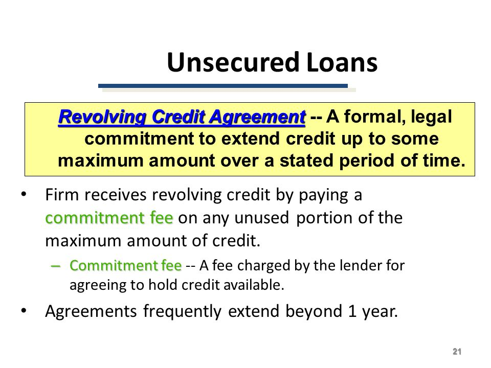 Credit Agreements. Consumer Credit Act Loan Agreements Agreement ...