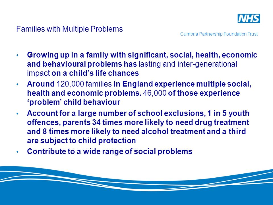 Families with Multiple Problems