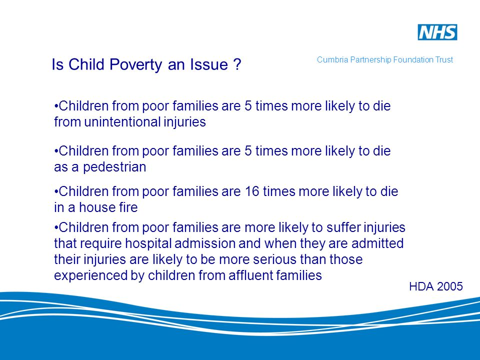 Is Child Poverty an Issue