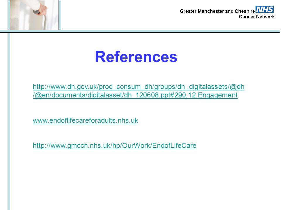 References http://www.dh.gov.uk/prod_consum_dh/groups/dh_digitalassets/@dh/@en/documents/digitalasset/dh_120608.ppt#290,12,Engagement.
