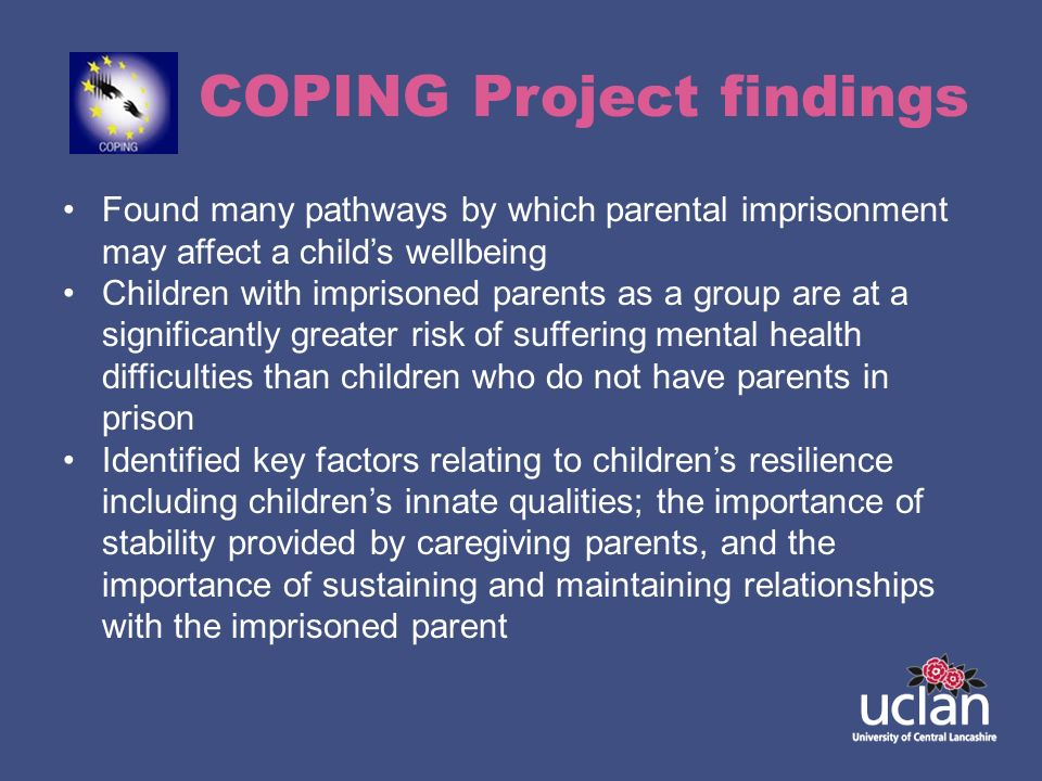 COPING Project findings