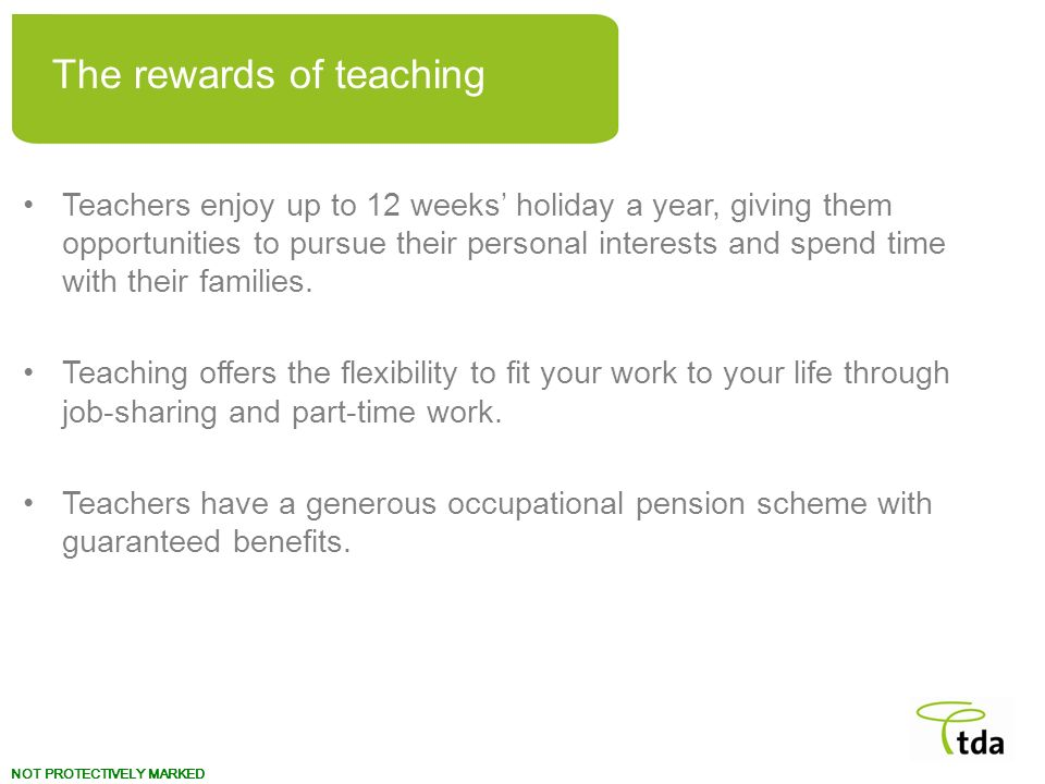 The rewards of teaching