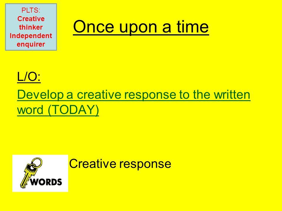 PLTS: Creative thinker