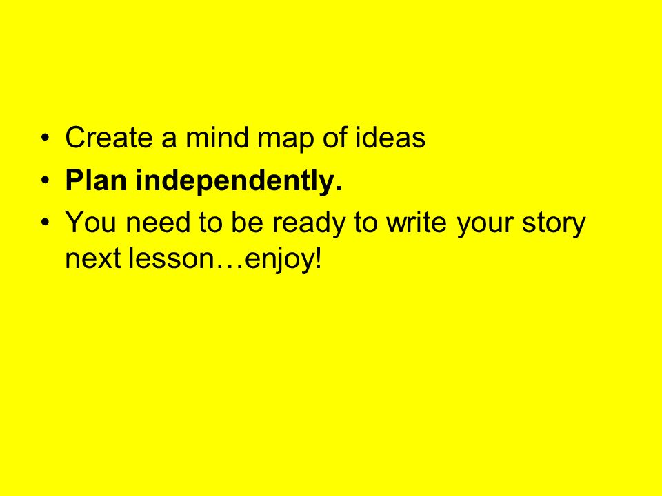 Create a mind map of ideas